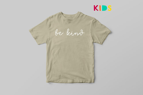 Be Kind Kids T-shirt, Kids Positive Quote T shirt