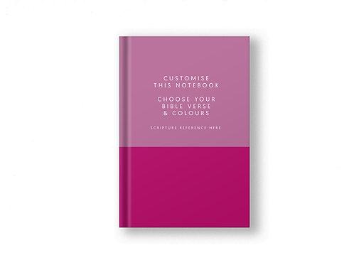 Custom Bible Verse Christian Journal