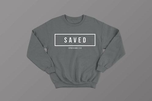 Saved Bible Verse Sweatshirt