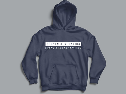 Chosen Generation Hoodie Christian Clothing by Stay Lit Apparel