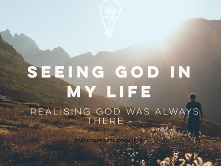 Seeing God in My Life - By Mic Sumner