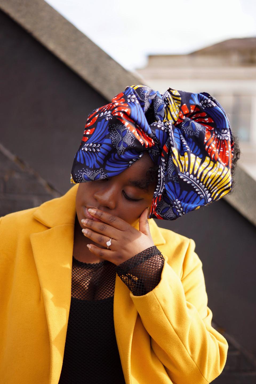 Styling Headwrap In Winter Asikara by Laura Jane
