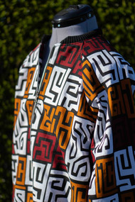Custom African Print Bomber Jacket