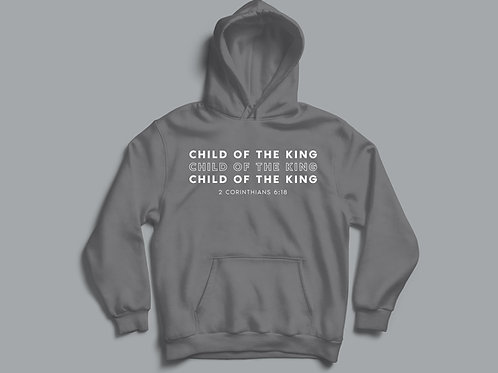 Child of the King Hoodie Christian Clothing UK by Stay Lit Apparel