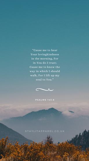 Psalms 143:8