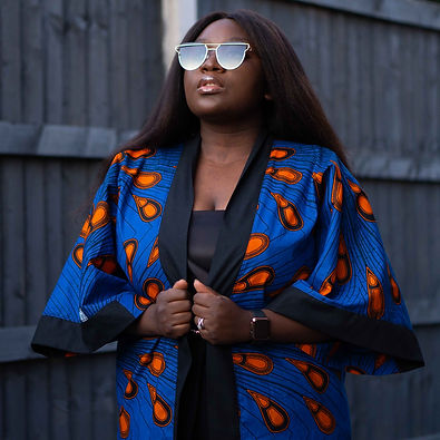 African Print Kimono Zamara