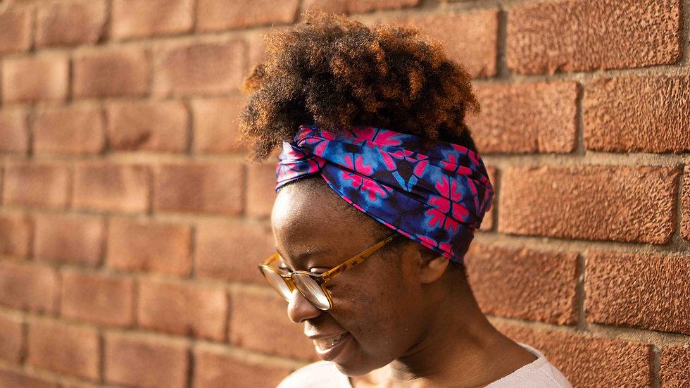 Satin Headwrap African Print
