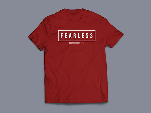 Fearless Christian Bible Verse T-shirt