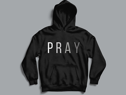 Pray Religious Christian Hoodie Clothing UK by Stay Lit Apparel