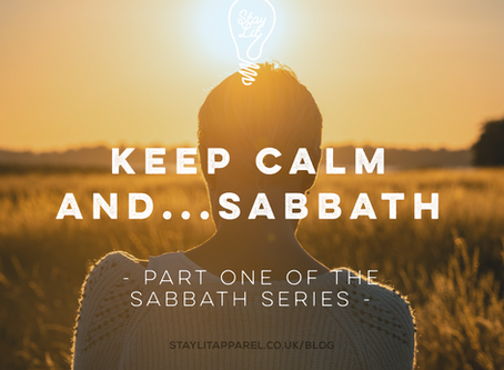 Keep Calm and...Sabbath - By Nomsa Mpofu