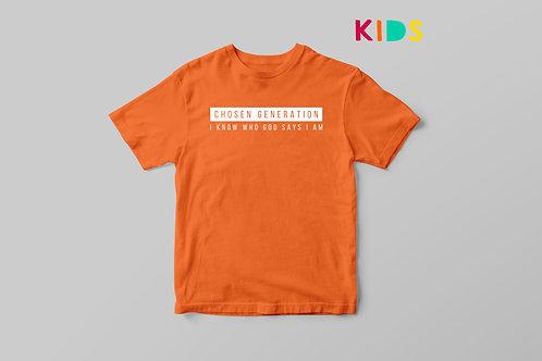 Chosen Generation Kids T-shirt