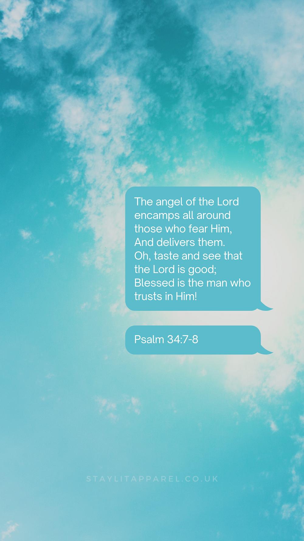 8 Spring Bible Verse Lock Screens - Free Phone Wallpapers