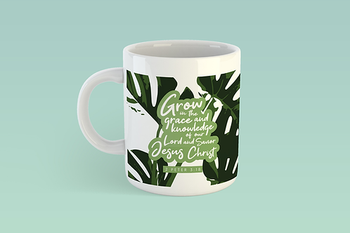 Grow in grace Christian Mug