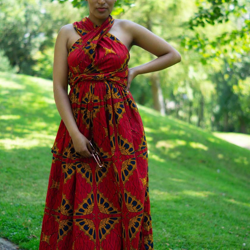 African Infinity Dress