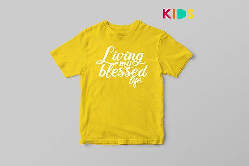 Living my best life Living my best life Kids T-shirt Christian Clothing Stay Lit Apparel UK