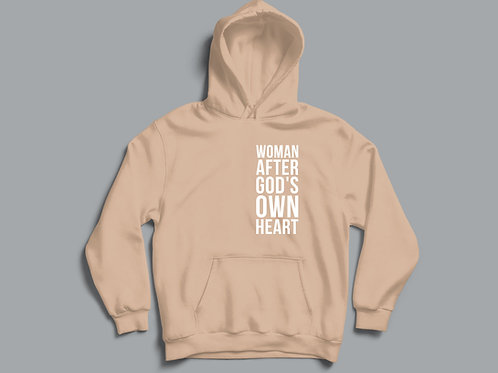 Woman After God's own heart Christian Hoodie