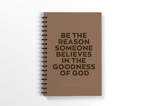 Goodness of God Ring Bound Notebook