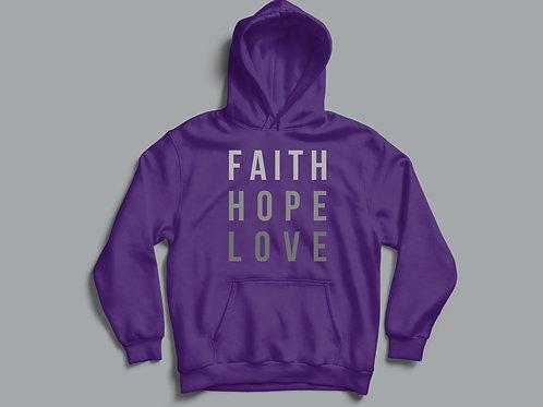 Faith Hope Love Christian Apparel by Stay Lit