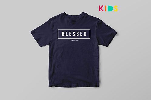 Blessed Christian Kids T-shirt Stay Lit Apparel UK Christian clothing