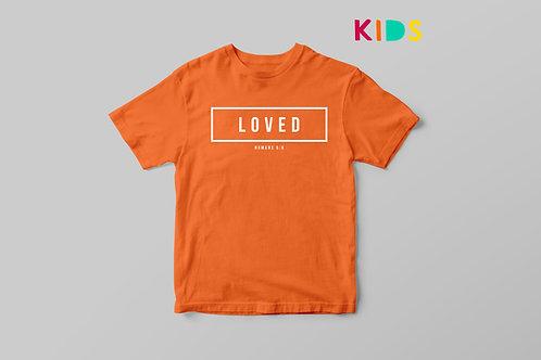 Loved Kids Bible Verse T-shirt Christian Clothing Stay Lit apparel UK