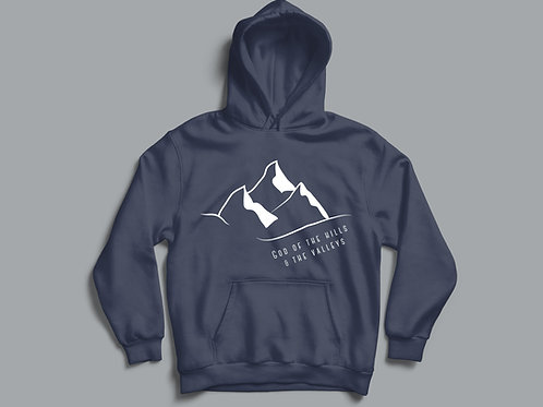 Hills and Valleys Christian Hoodie