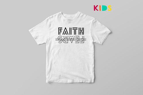 Faith over Fear Kids T-shirt