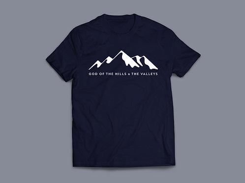 Hills and Valleys Tauren Wells Christian T-Shirt