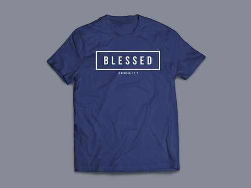 Blessed Christian T-shirt Christian Apparel by Stay Lit Apparel UK