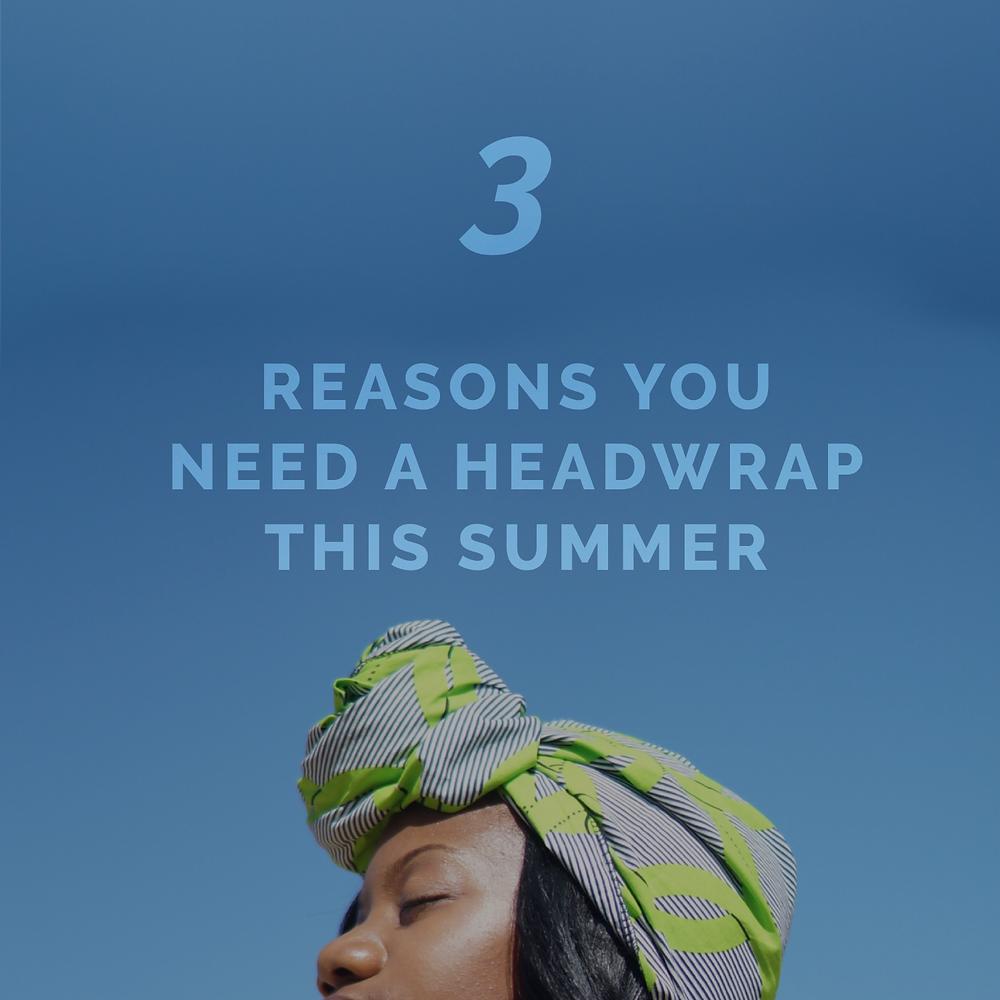 Headwrap blue sky