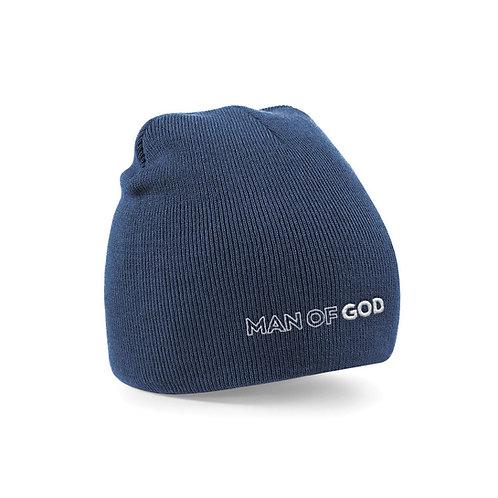 Man of God beanie hat