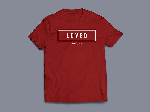 Loved Christian Bible Verse T-shirt