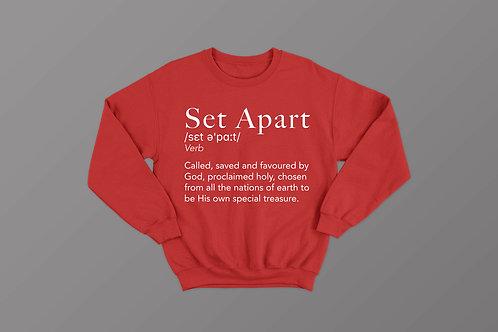 Set Apart Definition Christian Sweatshirt