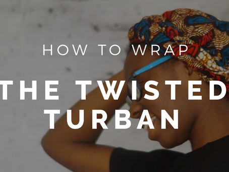 The Easiest Turban You'll Ever Wrap