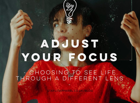 Adjust your focus - by Scharlee Thompson