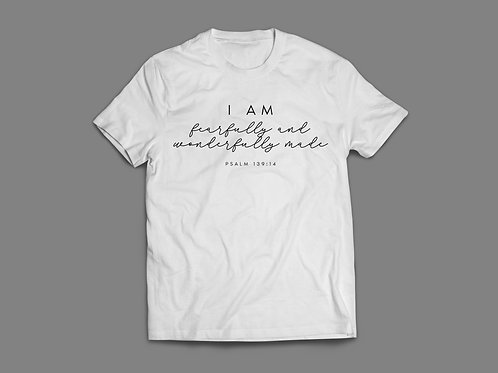 Fearfully and Wonderfully Made Christian T-Shirt