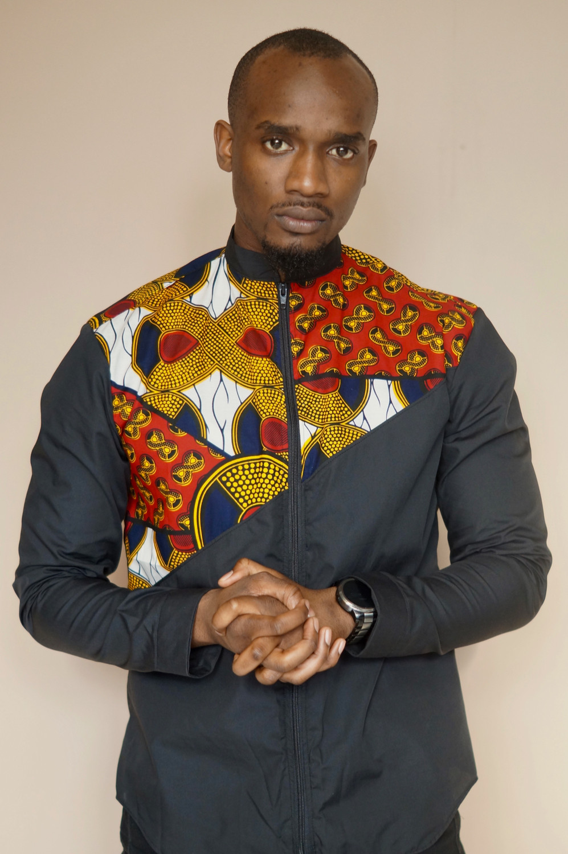 African Print Shirt Menswear