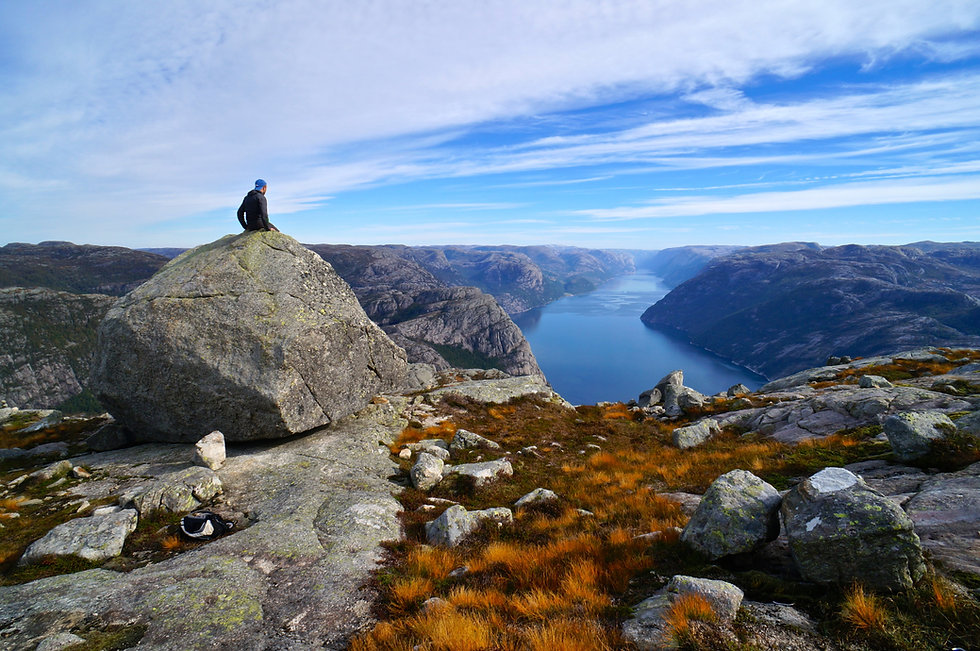 Lysefjorden Viewpoint, Norway