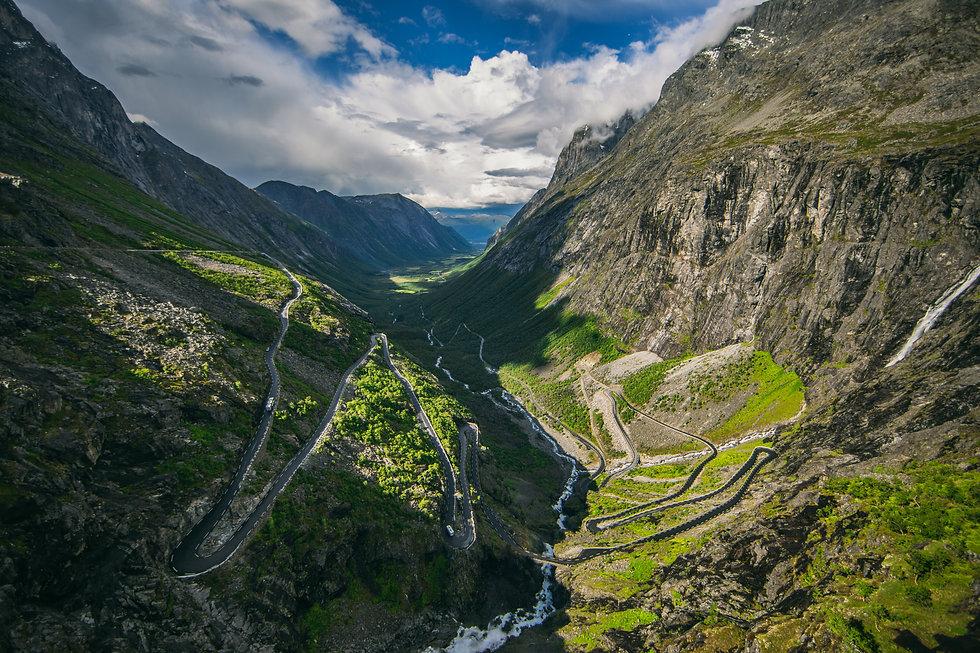 Trollstigen - National tourist routes-Sa