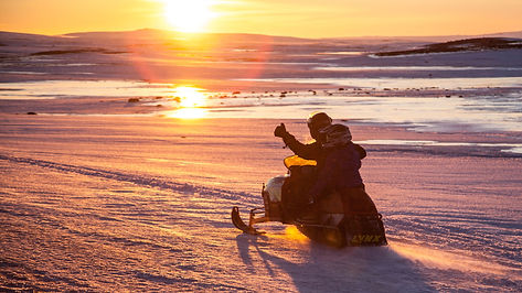 Snow-mobile, Iceland