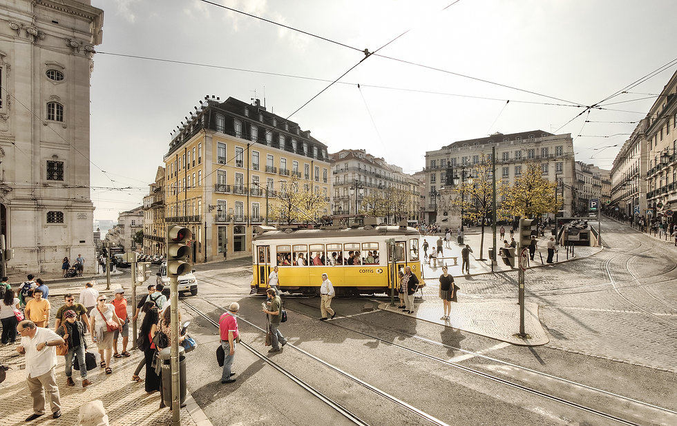 Tram, Lisbon
