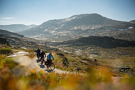 Cycling the Navvies Road, Sognefjord, No