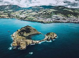 Vila Franca Islet, sao Miguel, Azores
