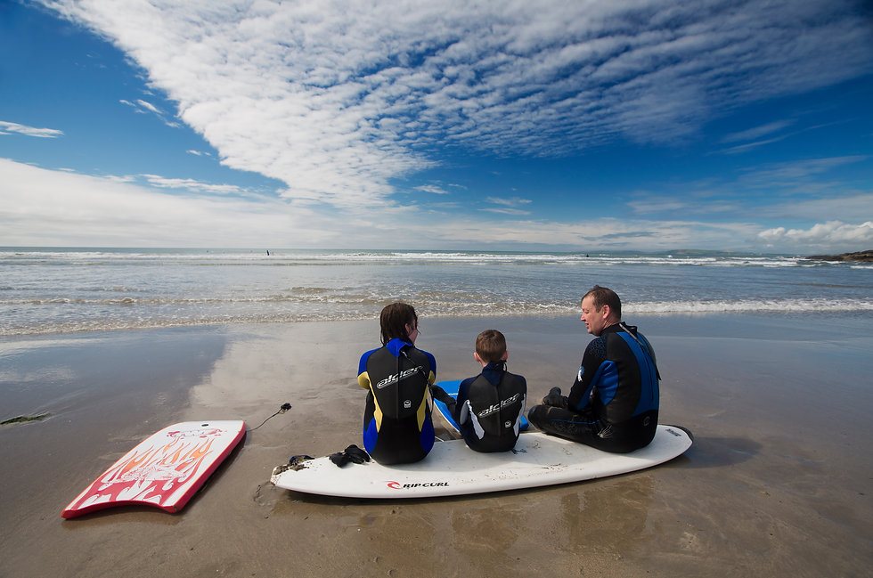 Surfing, Ireland