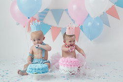 double cake smash
