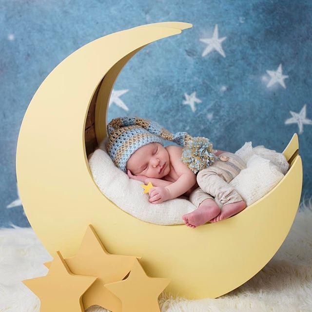 moon prop for newborns