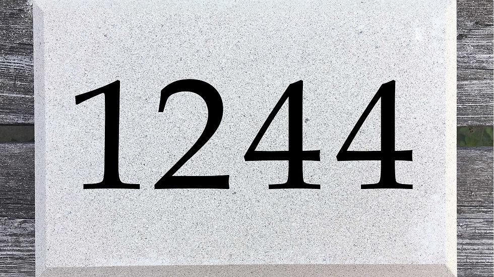 Beveled Edge 12 x 8 x 2 3/4 Book Antiqua Font