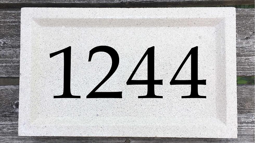 Recessed Edge 15 x 9 x 2 3/4 Book Antiqua Font