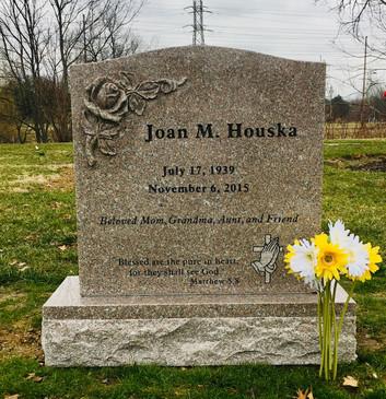 Custom Taupe Rose Memorial