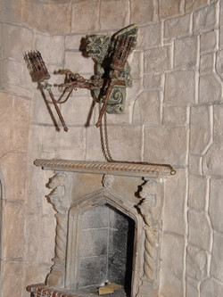 Fireplace and Dragon Light