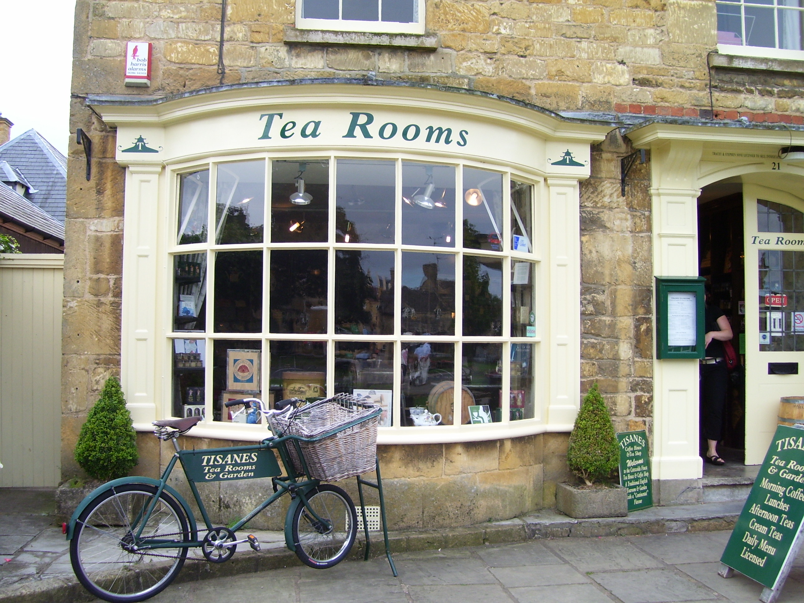 Inspiration for Tea Room